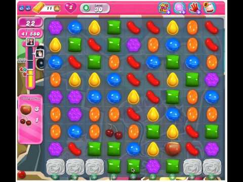 Candy Crush Saga Level 30 - 3 Stars No Boosters