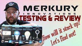 Merkury Innovations Testing & Review - Smart plug - A19 A21 Bulb - Wifi Camera 720p