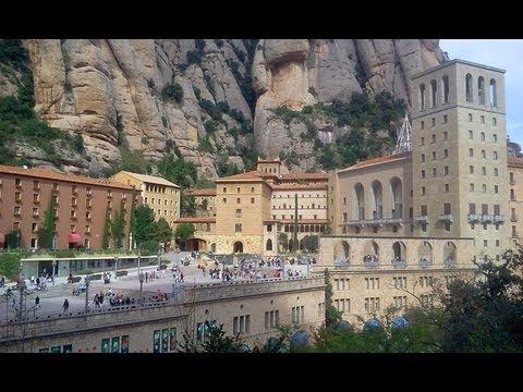 Достопримечательности Испании - Монастырь Монсеррат