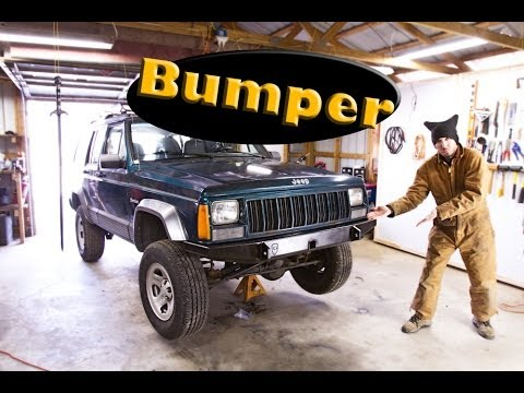 How To Install a JcrOffroad Front Bumper - Jeep Cherokee ...