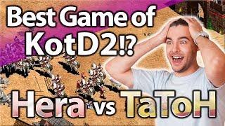 The Best Game Of The Tournament!? TaToH vs Hera | Game 2 KOTD2