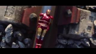 Superman VS Iron Man VS Rise of Steel Heroes Figur