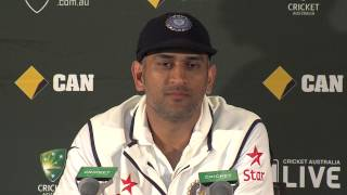 MS Dhoni: the final press conference