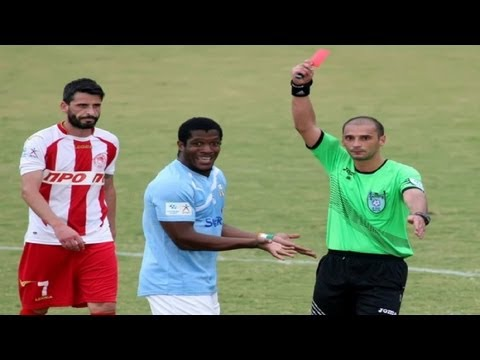 Funny Video - The Fastest RED CARD in Football History