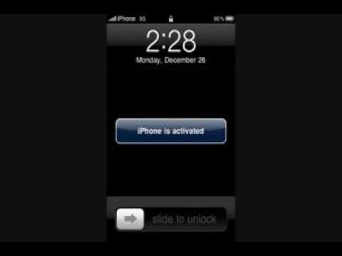2013 - Activate iPhone 3G/3Gs/4 /Fix Push Notifications/Fix Sim Card not supported Error *Easy Fix*