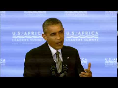 U.S. Africa Leaders Summit: President Obama Holds a Press Conference