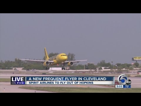 Live on Five: Spirit Airlines to begin offering service at Cleveland Hopkins