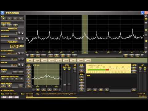 Radio Reloj (Cuba) 570kHz 11/18/11 02:55- UTC Station Announcement