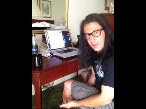 Mike Mangini hotel practice, Show Day#2, Dream Theater Central & South American Tour
