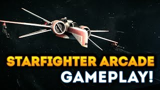 NEW Starfighter Arcade Gameplay - Star Wars Battlefront 2 Han Solo DLC Season 2
