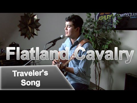 Cleto Cordero of Flatland Cavalry - 'Traveler's Song' In the Ashley Furniture Hangout Lounge
