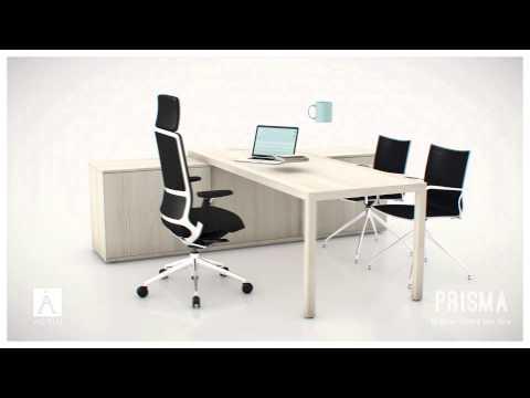 PRISMA - Natural Desking System