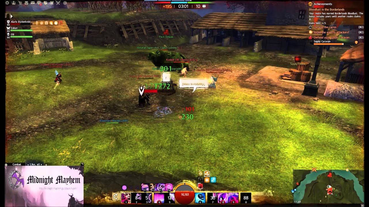 how to avoid damage as a mesmer gw2