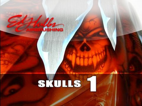 Airbrushing SKULLS - [part - 1 of 2] Video