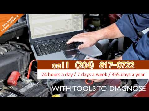 24 Hour Emergency Mechanic, Winnipeg MB call (204) 817-0722