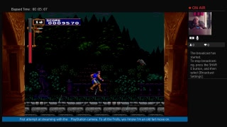 Castlevania Requium Streaming With PlayStation Camera