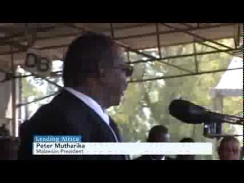Malawi President Peter Mutharika  on Leading Africa via Bloomberg TV Africa