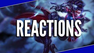 League Of Reactions   League Of Legends Montage