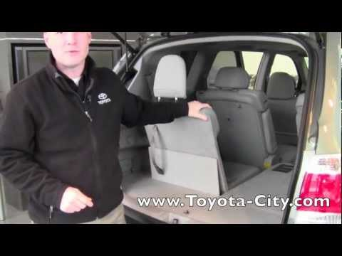 2012 toyota highlander third row seat operation how to by. Black Bedroom Furniture Sets. Home Design Ideas