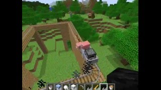 Minecraft Myjang test video 4 : Minecart with furnace mechanics update!