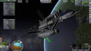 Launching Science Corvette into Orbit