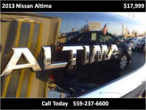 2013 Nissan Altima Used Cars Fresno CA