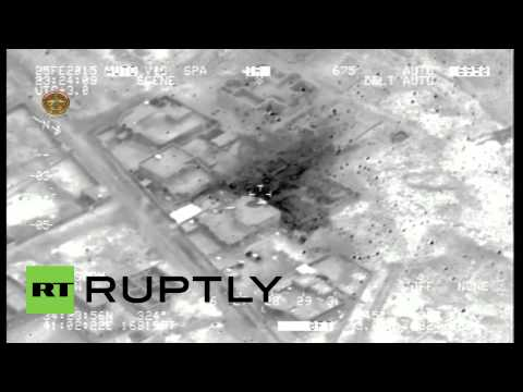 Iraq: Islamic State building OBLITERATED in Iraq airstrikes, 17 militants reportedly killed