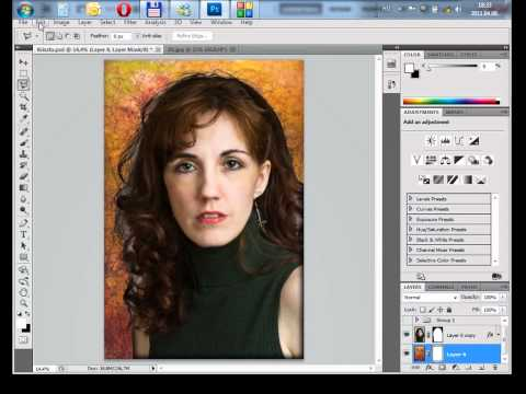 Photoshop gyorstalpaló 2. - Rétegek kezelése és maszkolása