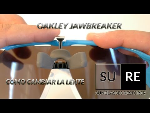 Lentes Oakley Jawbreaker  - ¿Cómo cambiar la pantalla? thumbnail