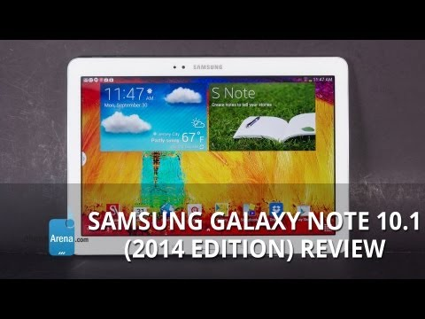 Samsung Galaxy Note 10.1 (2014 Edition) Review