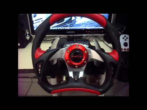 PC Tuning + Mod Logitech G27 + Dirt 3 HD 720P