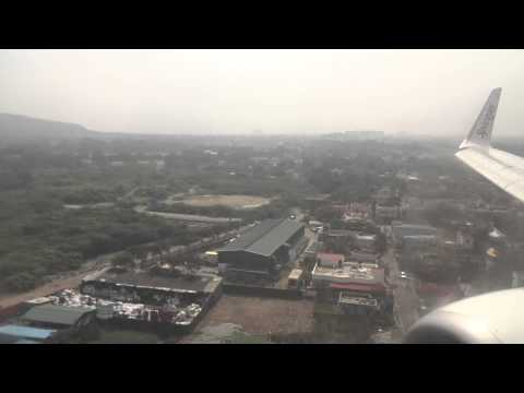 SpiceJet SG 282 (Boeing 737-800) Landing at Chennai International Airport