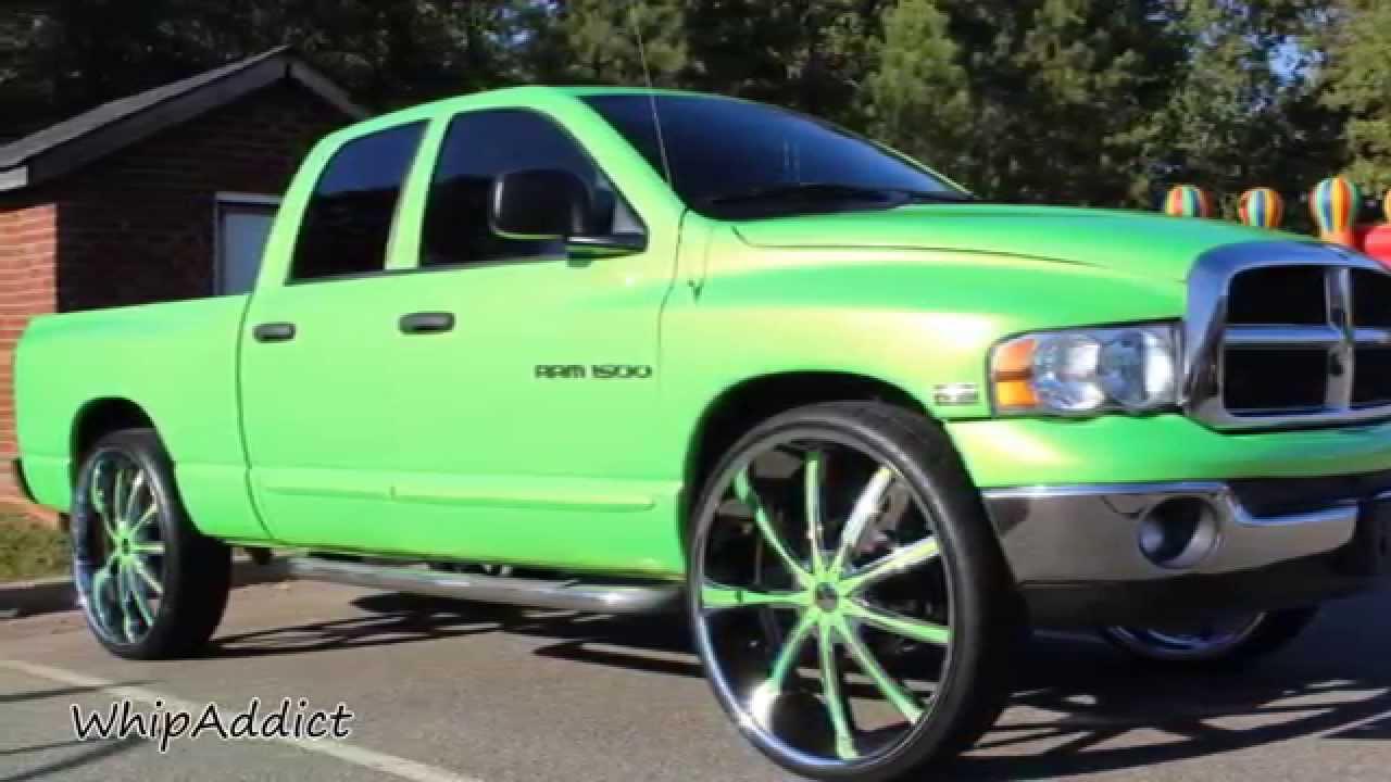 Whipaddict Dodge Ram On 30s 2 73 Impala On 26s 74
