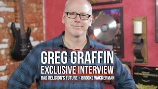 Greg Graffin on Bad Religion's Future + Brooks Wackerman Leaving For Avenged Sevenfold