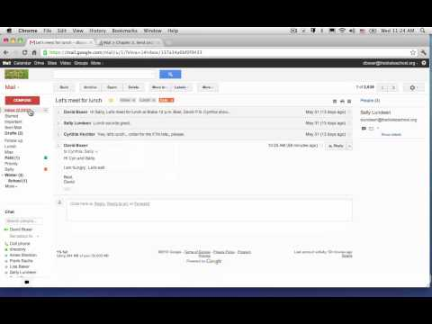 How to turn the Conversation View On or Off in Gmail