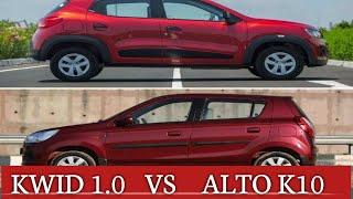 KWID CLIMBER  vs ALTO K10 vxi(o)