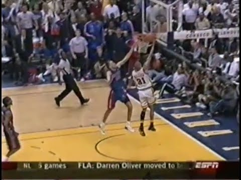 May 24, 2004 - Sportscenter's Stuart Scott recounts the Detroit Pistons' 72-67 victory over the Indiana Pacers in Game 2 of the 2004 Eastern Conference Final...