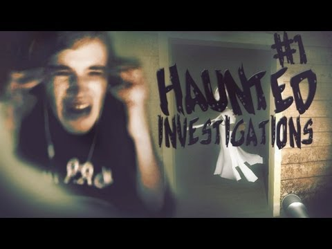 I BROKE MY CHAIR! D: - Haunted Investigations (Demo) - Part 1
