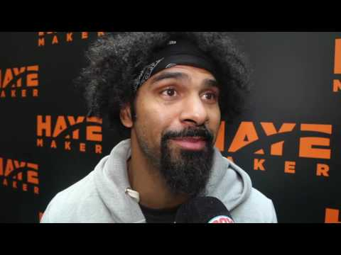 DAVID HAYE ON WHY HE'LL FIGHT BRIGGS, KHAN'S KO DEFEAT TO CANELO & NOT IMPRESSED BY FURY'S CONDITION