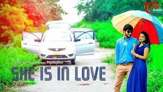 She Is In Love A Romantic Short Film    by Pavan Kumar Vajinepalli    #TeluguShortFilms