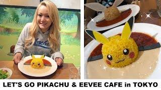 Pikachu Cafe & Pokemon Center in Tokyo | VLOG
