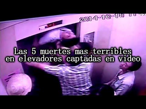 Las 5 muertes en elevadores más espeluznantes captadas en video