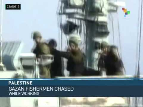 Palestine: Economic War Escalated Against Gaza Fisherman