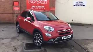 Closer Look: Fiat 500X Cross + Multijet 4X4