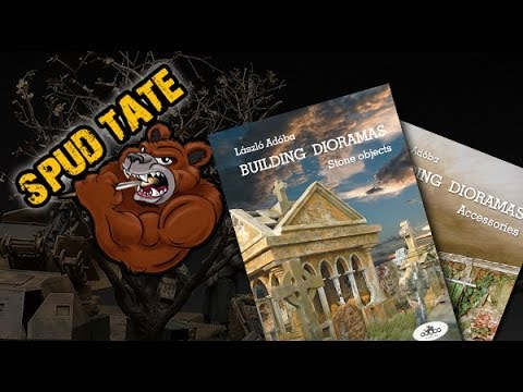 Adoba Diorama Books Review ft. Spud Tate