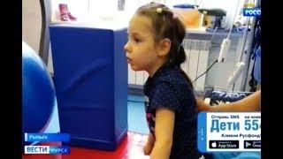Вика Бирюкова, детский церебральный паралич, задержка развития, требуется лечение