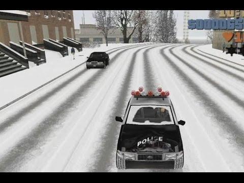 Обзор зимней GTA 3 'Snow 10th Year Anniversary PC Winter 2013'