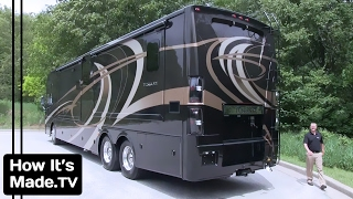 Luxury Motorhomes & RVs: How They Are Made