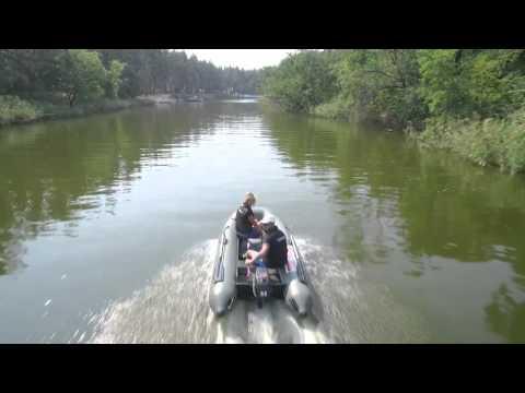 лодка parsun с псевдо килем