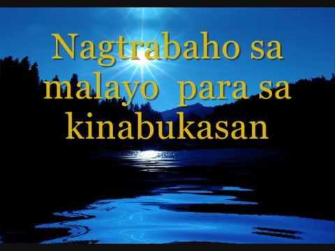 God Bless Filipino Minus One video